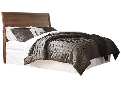 Danneston Brown/Graphite Queen Panel Headboard