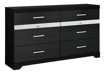 Image for Starberry Black Dresser