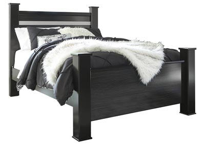Image for Starberry Black Queen Poster Bed