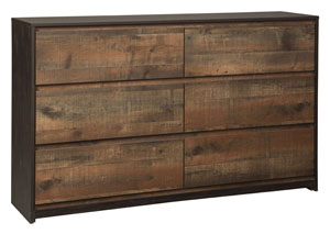 Windlore Dark Brown Dresser