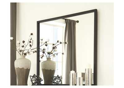 Image for Windlore Dark Brown Bedroom Mirror