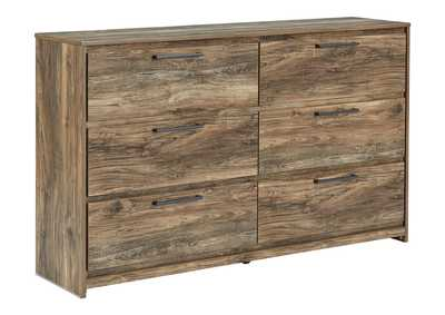Rusthaven Brown Dresser