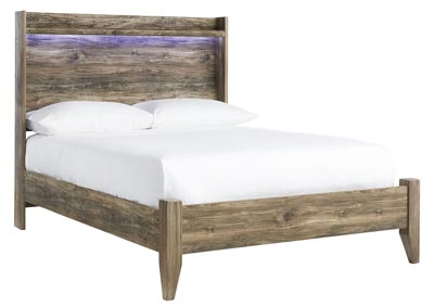 Rusthaven Brown Full Panel Bed
