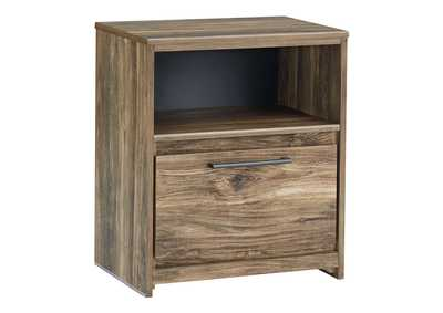 Rusthaven Brown Nightstand