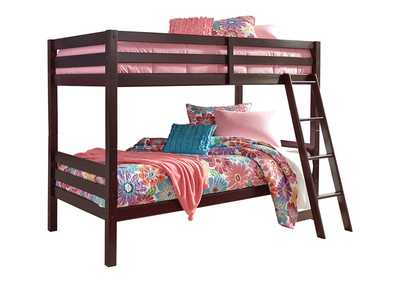 Image for Halanton Twin over Twin Bunk Bed with Ladder