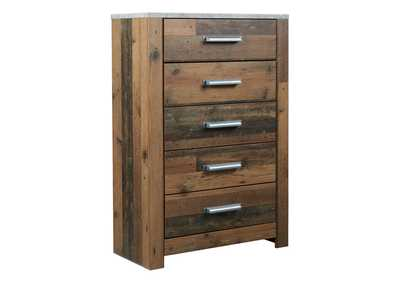 Chadbrook Brown Chest of Drawers