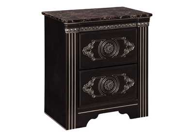 Banalski Brown Nightstand