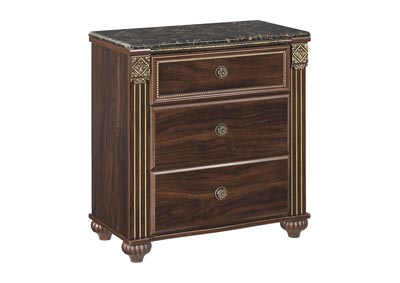 Gabriela 3 Drawer Nightstand,Signature Design By Ashley