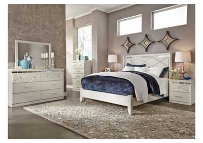 Image for Dreamur Champagne Dresser w/Mirror