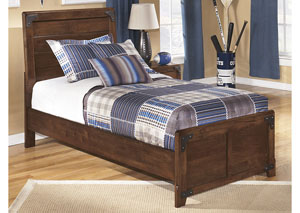 Delburne Twin Panel Bed