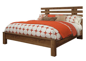 Cinrey Medium Brown King Bed