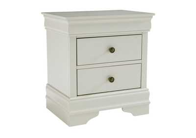 Image for Jorstad Gray Two Drawers Nightstand
