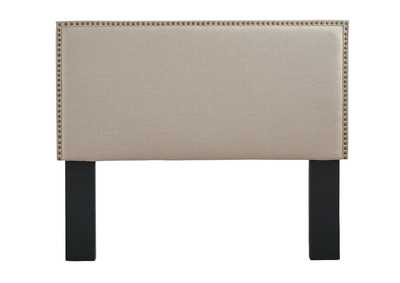 Chasebrook White Queen/Full Upholstered Headboard,Signature Design By Ashley