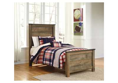 Image for Trinell Brown Twin Panel Bed