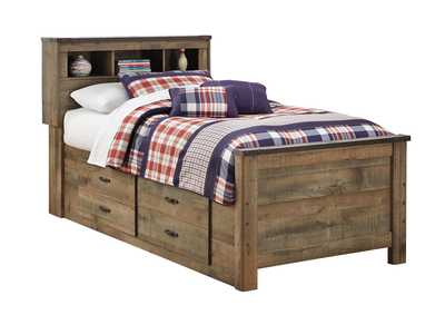 Image for Trinell Twin Bookcase Bed w/ Storage