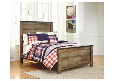 Image for Trinell Brown Full Panel Bed