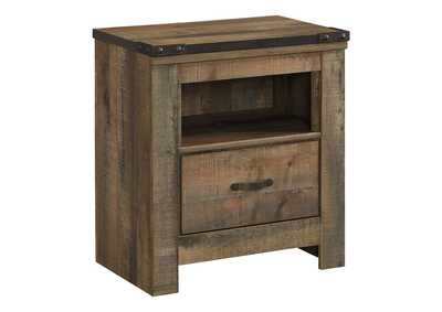 Image for Trinell Brown One Drawer Night Stand