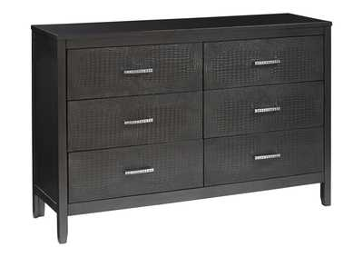 Image for Delmar Gray Dresser