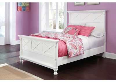 Kaslyn Full Panel Bed
