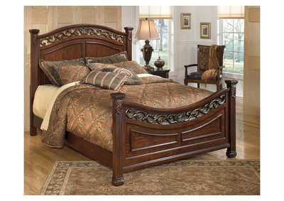 Image for Leahlyn California King Panel Bed