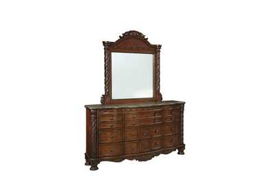 North Shore Dresser w/ Mirror