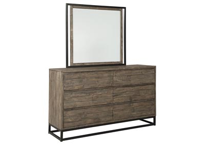 Cazentine Grayish Brown Dresser w/Mirror