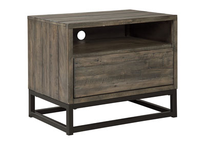 Cazentine Grayish Brown One Drawer Night Stand