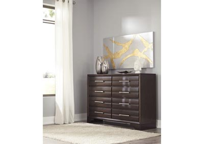 Andriel Dark Brown Dresser