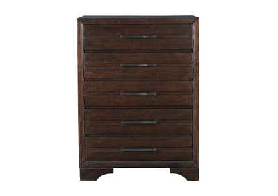 Andriel Dark Brown Chest,Benchcraft