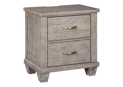 Naydell Gray Nightstand