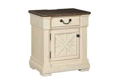 Bolanburg Antique White 1 Drawer Nightstand