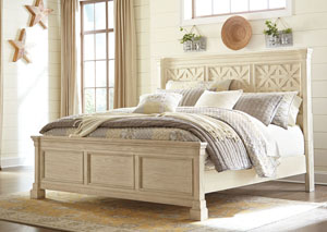 Bolanburg White California King Panel Bed