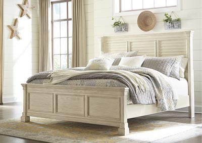 Image for Bolanburg White Queen Louvered Bed