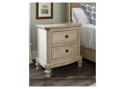 Demarlos 2 Drawer Nightstand