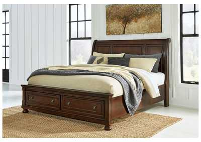 Image for Porter California King Sleigh Storage Bed