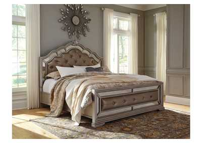 Birlanny Silver California King Upholstered Bed
