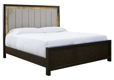 Image for Maretto Queen Upholstered Panel Bed