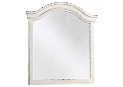 Image for Realyn Chipped White Youth Mirror