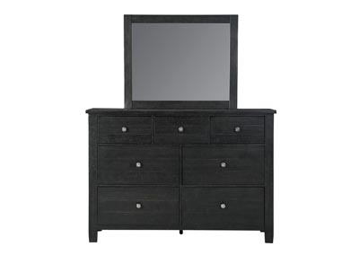 Image for Noorbrook Black Dresser and Mirror