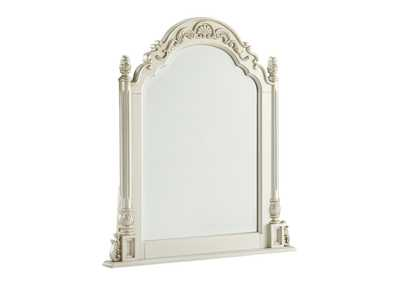 Cassimore Pearl Silver Vanity Mirror