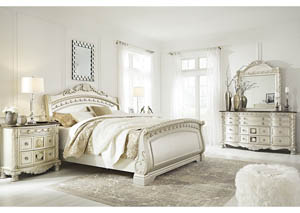 Image for Cassimore Pearl Silver Bedroom Dresser w/Mirror