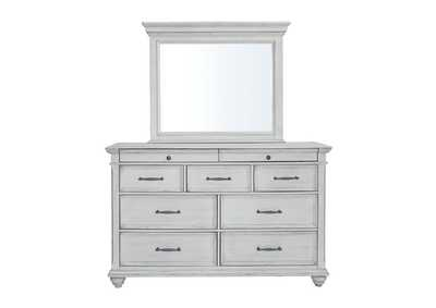 Kanwyn Whitewash Dresser w/Mirror