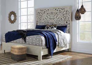 Bantori Multi California King Panel Bed
