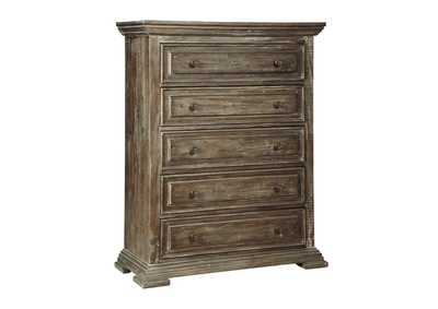 Wyndahl Brown Chest of Drawers