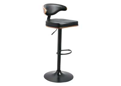 Image for Adjustable Height Barstools Multi Tall Upholstered Swivel Barstool