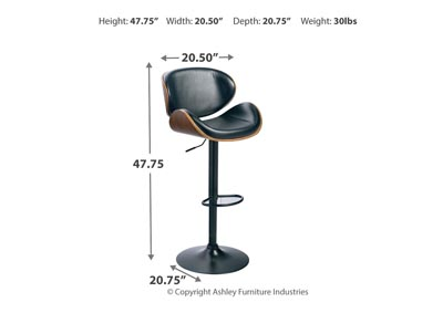 Adjustable Height Barstools Multi Tall Upholstered Swivel Barstool,48 Hour Quick Ship