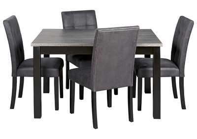 Image for Garvine Two-Tone Dining Table and Chairs (Set of 5)