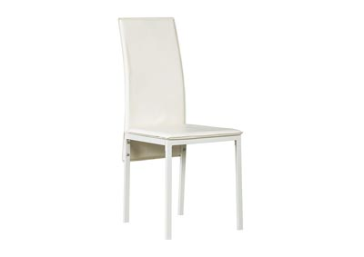Sariden White Dining Room Side Chair (Set of 2)