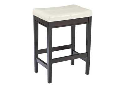 Image for Kimonte Ivory Upholstered Barstool (Set of 2)