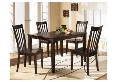 Hyland Rectangular Dining Table w/ 4 Chairs,Ashley